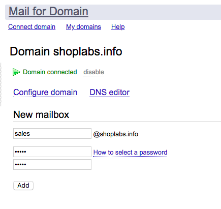 Mail: Yandex Mail for domain — Documentation for the AWS