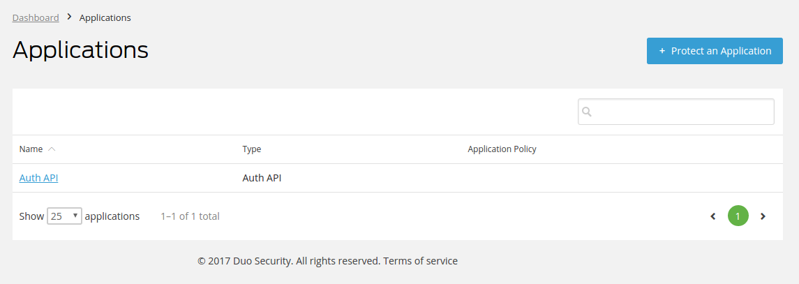 Two-Factor Authentication by Duo — Addons documentation