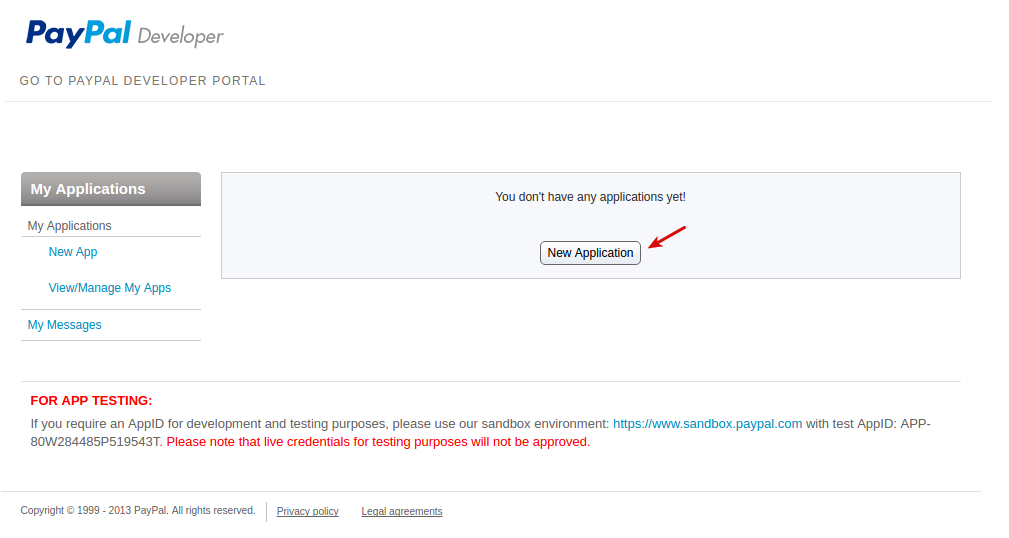 PayPal Adaptive Payments — Addons documentation
