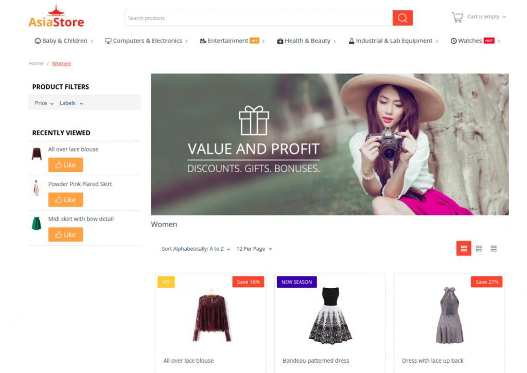 Choose the Right Storefront Theme and Create Your Success Story!