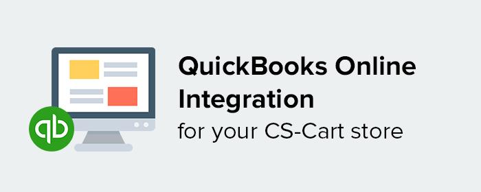 quickbooks online integration for cs-cart
