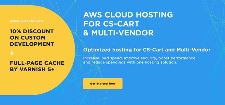 10% discount on custom development and free add-ons with any AWS Cloud hosting annual plan