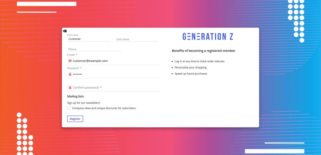 Generation Z Theme: Xmas Updates!