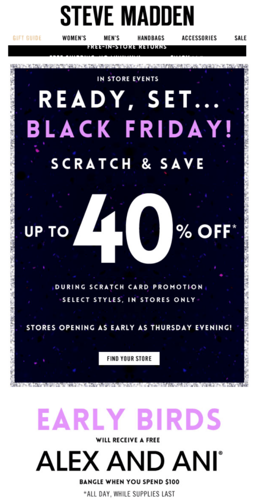 Top 20 Best Black Friday Campaigns for eCommerce Brands