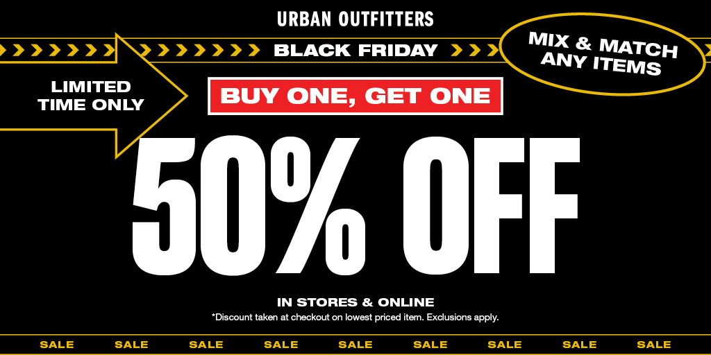 Urban Outfitters Black Friday