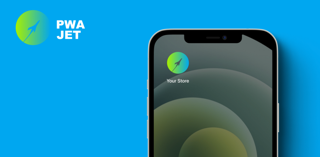 PWAjet allows adding your PWA store logo to the home screen as with a standalone app