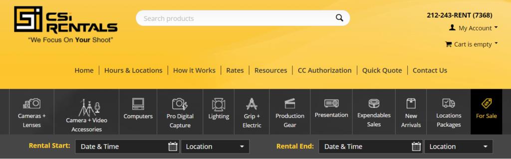 CSiRentals Platform on Multi-Vendor