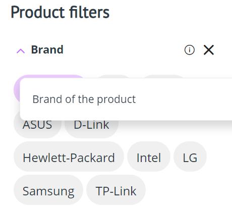 Filter Hints