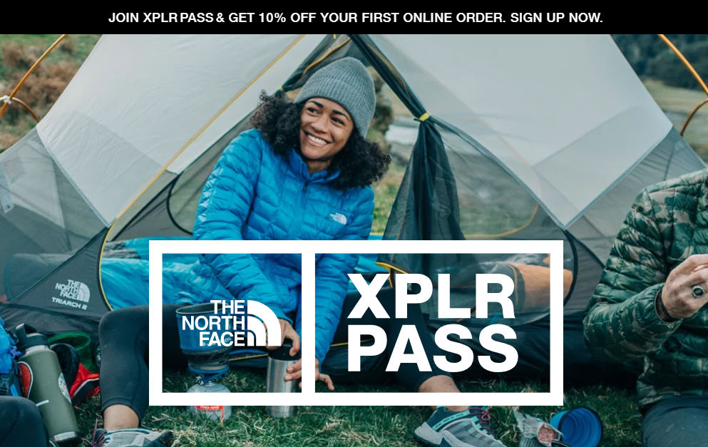 The North Face Loyalty Program