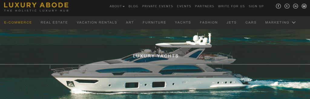 Luxury Abode brand archetype